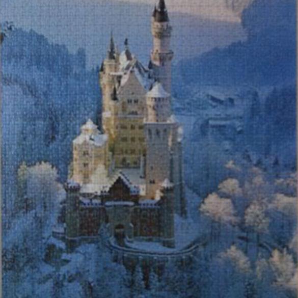 Neuschwanstein en invierno