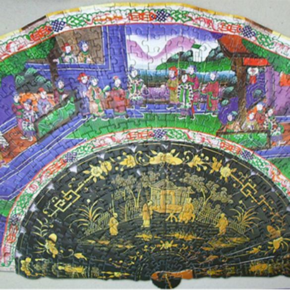 Abanico Oriental (Siglo XIX)