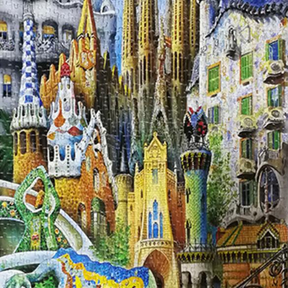 Collage Gaudi